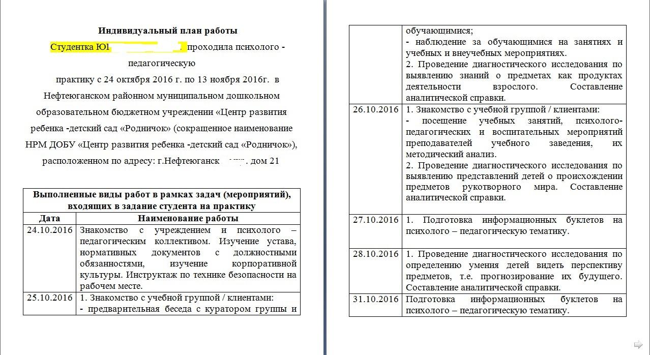 Введение для отчета по практике (пример)