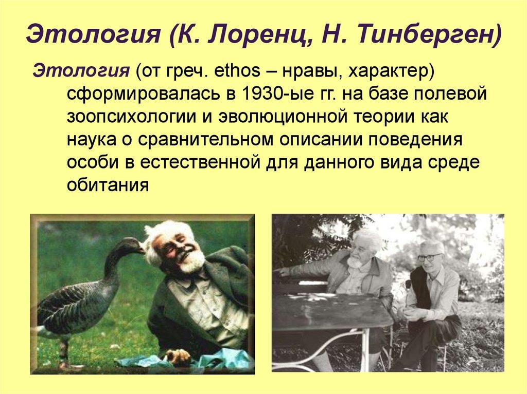 Этология — википедия. что такое этология