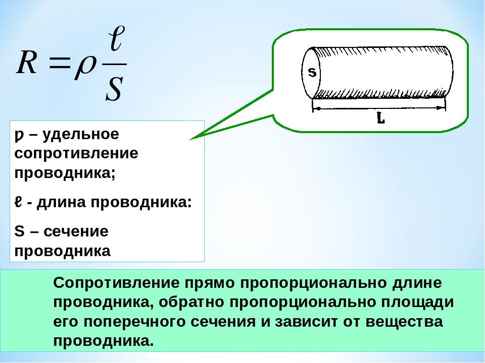 Удельное электрическое сопротивление — википедия. что такое удельное электрическое сопротивление
