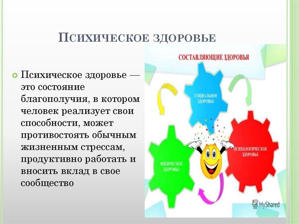 Психическое здоровье — википедия