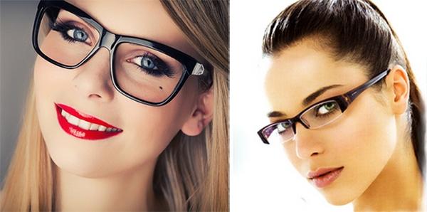 Разница между диоптриями очков и линз