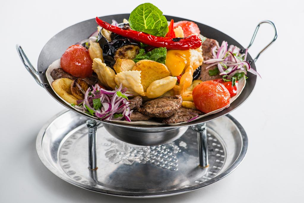 Садж чугунный азербайджанский (для шашлыка) - что это такое?