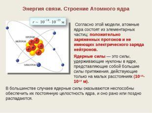 Состав атомного ядра: массовое и зарядовое число