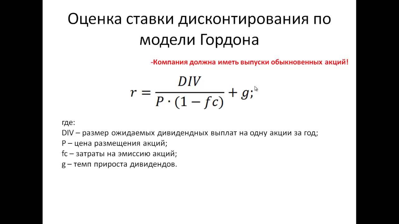 Что такое «ставка дисконтирования»? – sprintinvest.ru
