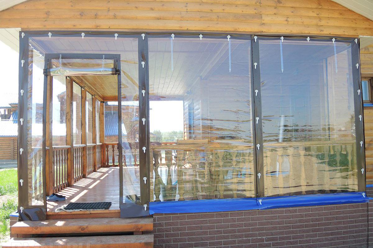 Мягкие окна для беседок и террас: что это такое, фото штор из пвх