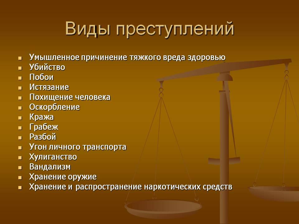 Определение преступление
