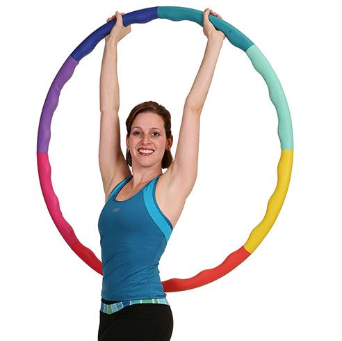 Обруч-хулахуп для похудения, разновидности, нюансы выбора, тренировки