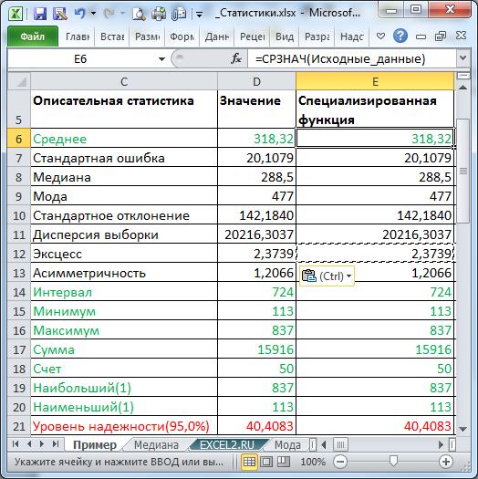 Статистика-это грамматика науки о данных. часть3