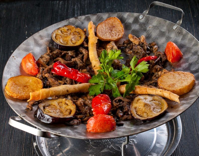 Садж кебаб рецепт с фото