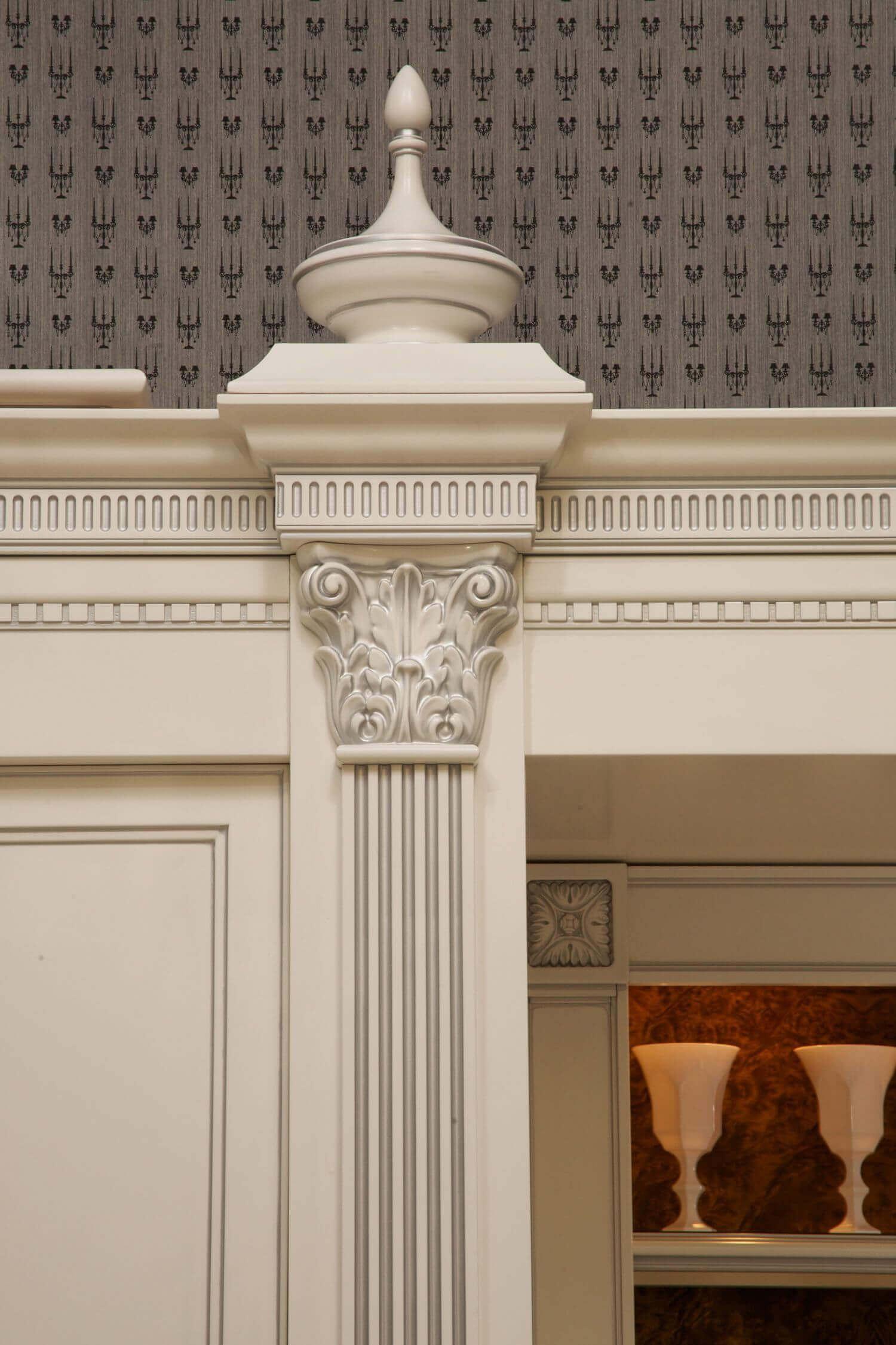 Пилястры на фасаде и в интерьере дома - фото, материалы, купить по лучшей цене • [артфасад]