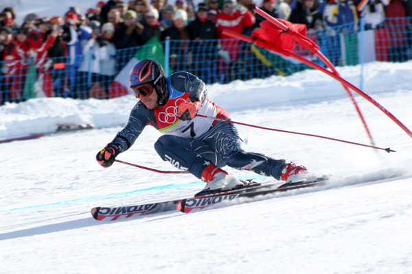 Слалом - это экстремальный вид спорта на грани возможного. :: syl.ru