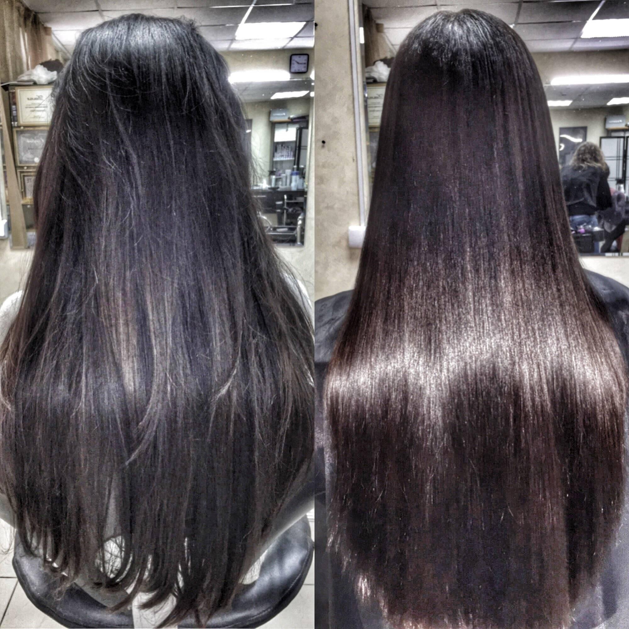 Что лучше для волос – нанопластика, ботокс или кератиновое выпрямление, чем отличаются эти процедуры, какой от них эффект, есть ли противопоказания?