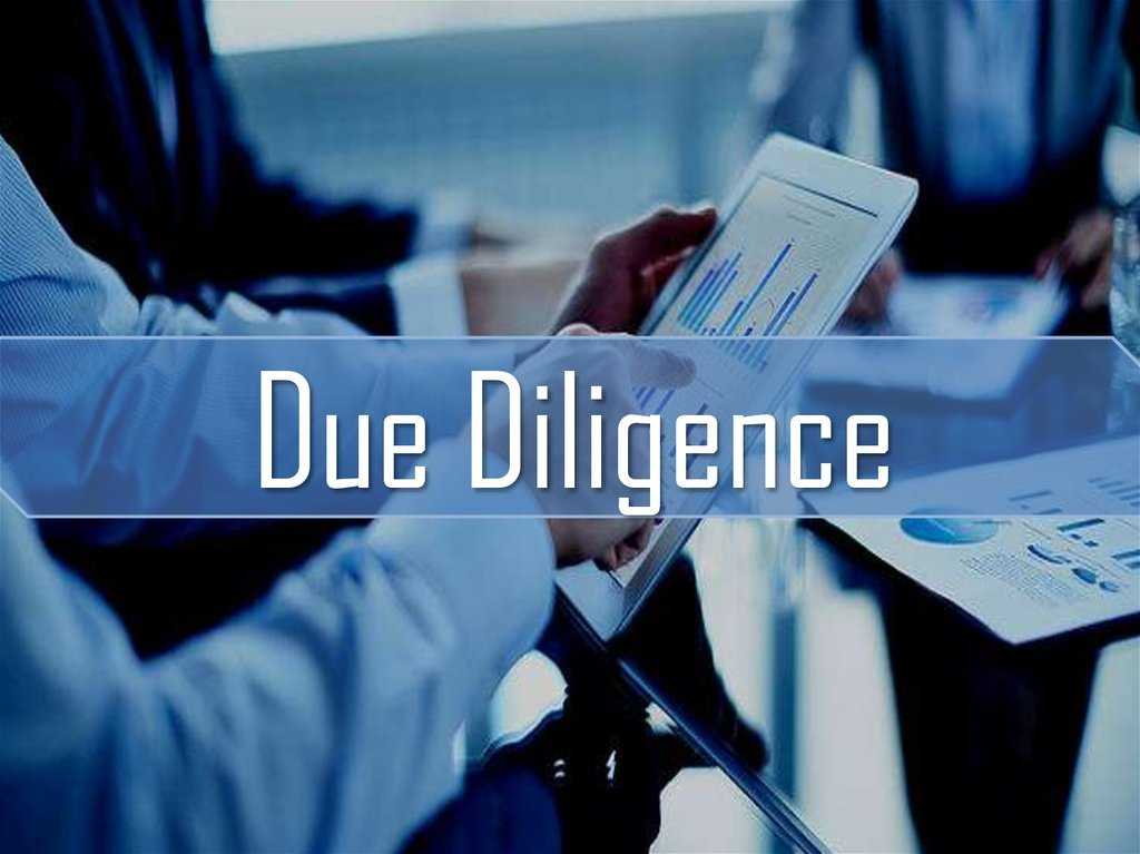 Due diligence definition