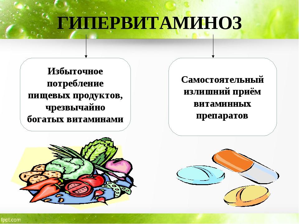 Гипервитаминоз: описание что такое, причины, симптомы, лечение, профилактика