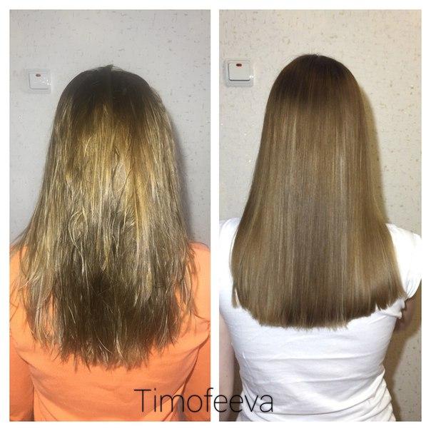 Последствия после ботокса для волос
