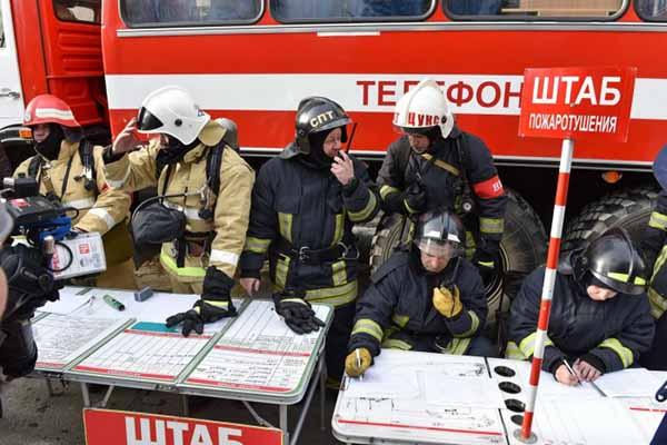Руководитель тушения пожара - его обязанности, права и полномочия.