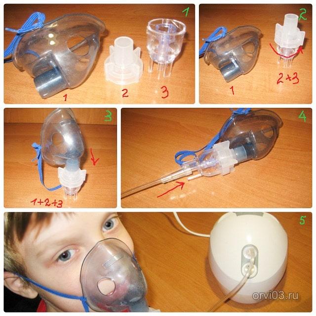 Как делать ингаляции небулайзером: как одевать маску, дышать, проводить процедуру взрослому и ребенку, сколько минут и дней