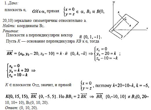 Плоскость (геометрия)