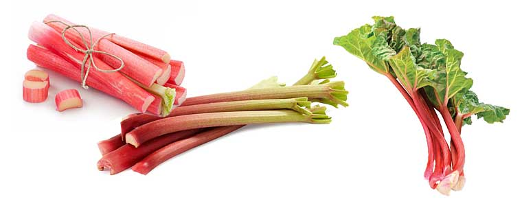 Ревень — витаминные черешки