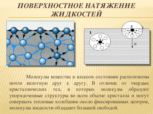 Sa. поверхностное натяжение — physbook