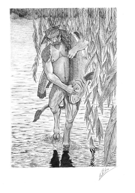 Анчутка | bestiary.us
