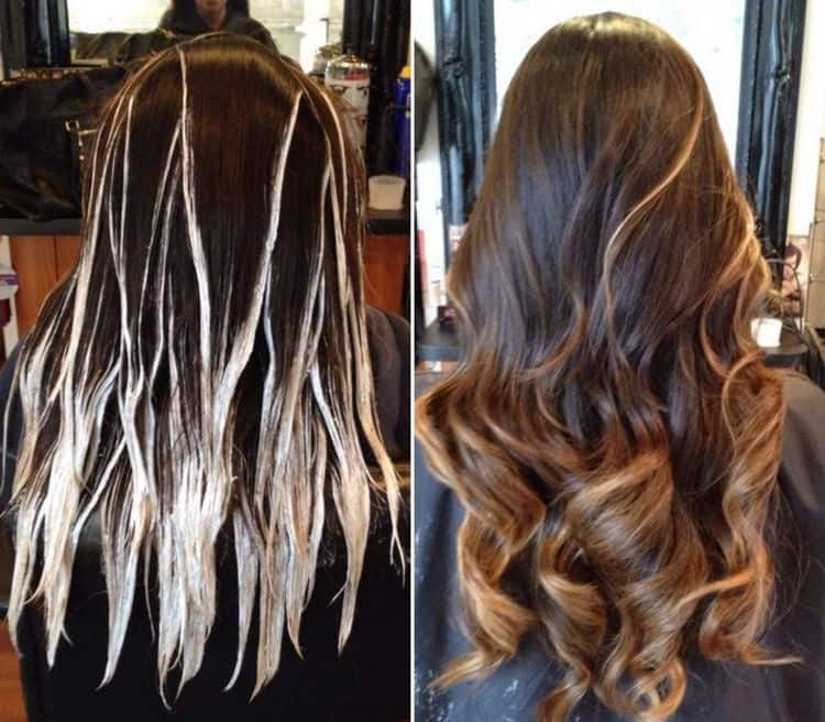 Балаяж: техника выполнения. пошаговая инструкция по окрашиванию волос с фото  — ruxa