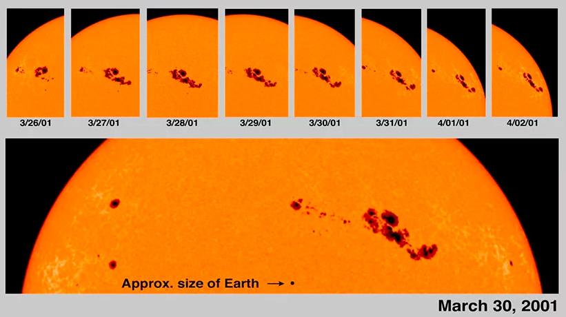 Солнечные пятна. вспышки на солнце. что происходит с солнцем :: syl.ru