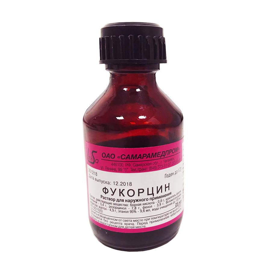 Фукорцин: розовая панацея от вирусных, грибковых и бактериальных высыпаний