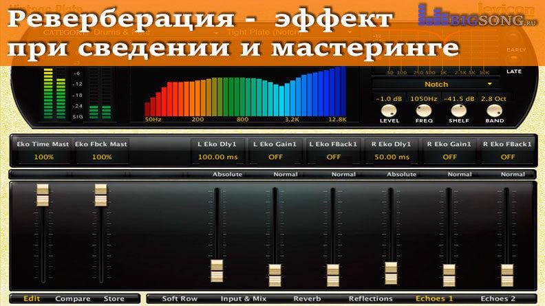 Импульсные ревербераторы — музыкальный корпускул
