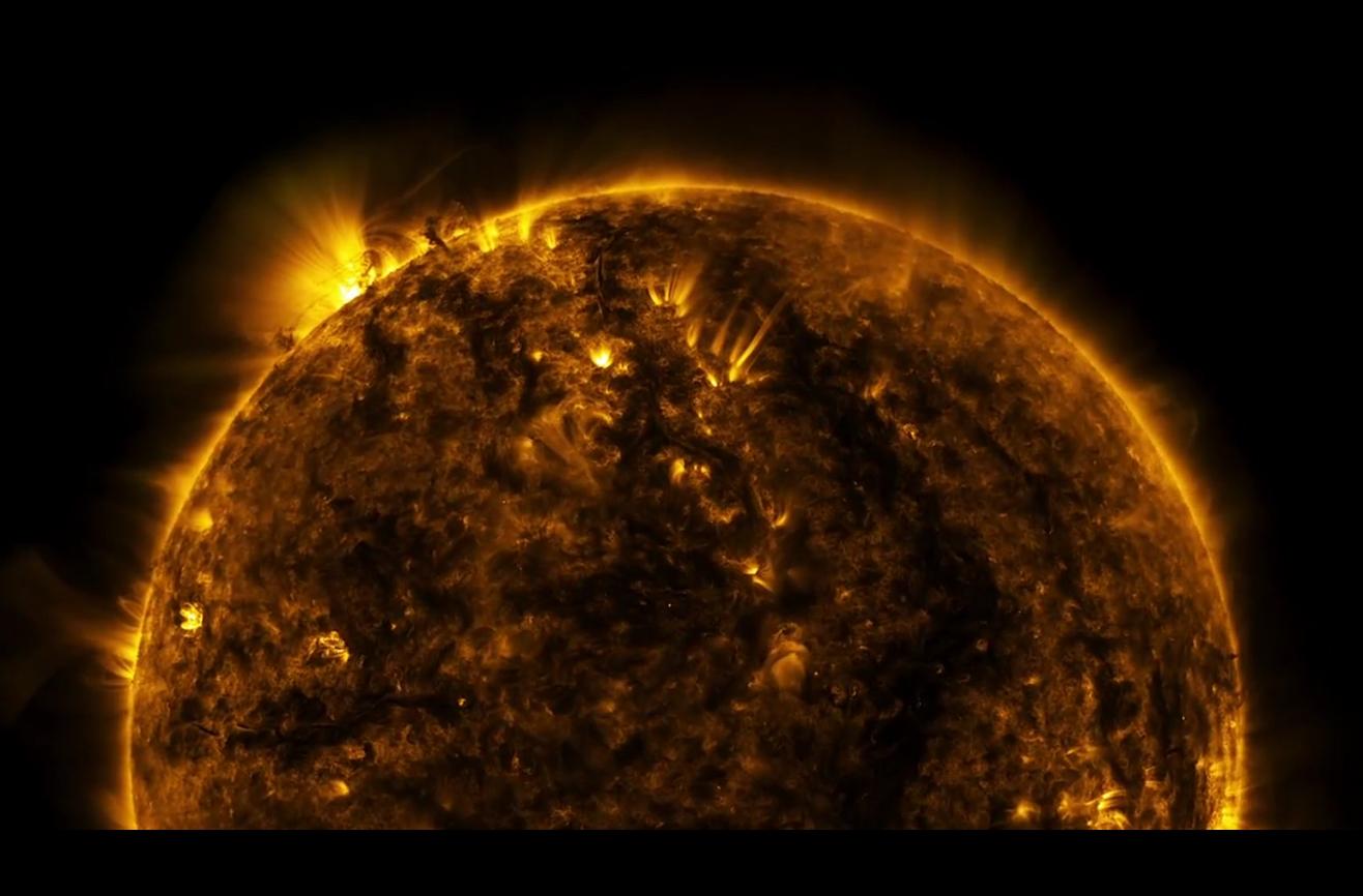 Строение атмосферы солнца