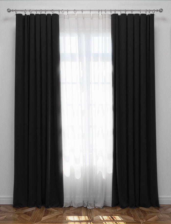 Ткань блэкаут для штор: разновидности, плюсы, как выбрать