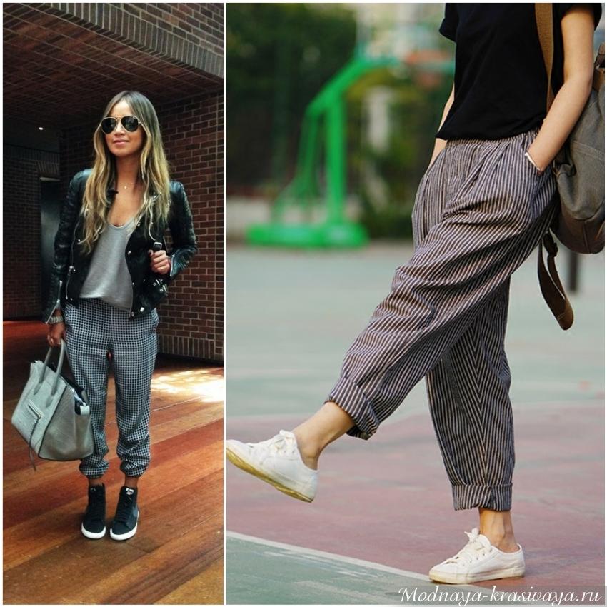Женские брюки-джоггеры: с чем носить и как выбрать
