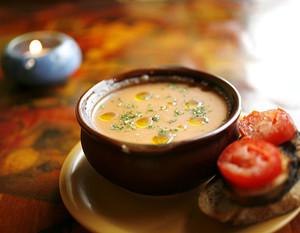"""Холодный испанский суп """"сальморехо"""" – кулинарный рецепт"""