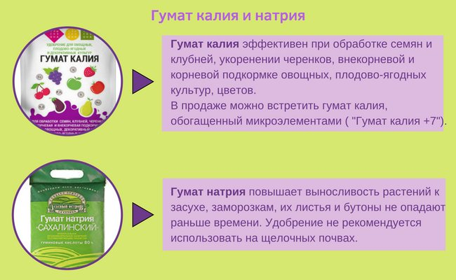 Что такое гумат калия? как правильно использовать гуматы?