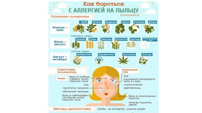 Поллиноз | симптомы | диагностика | лечение - docdoc.ru