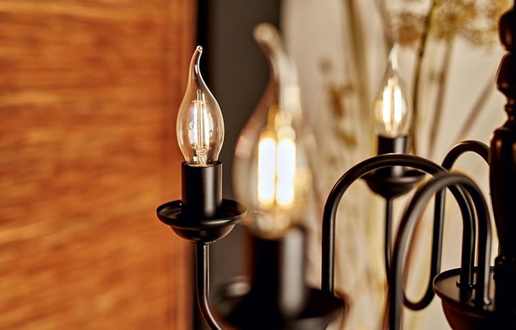 Светодиодные филаментные лампы: обзор, виды, мощность и отзывы
