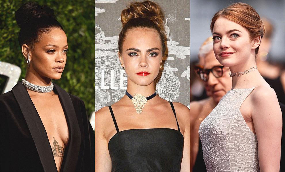 Чокер на шею: что означает, с чем носить (фото 2019-2020), как сделать своими руками