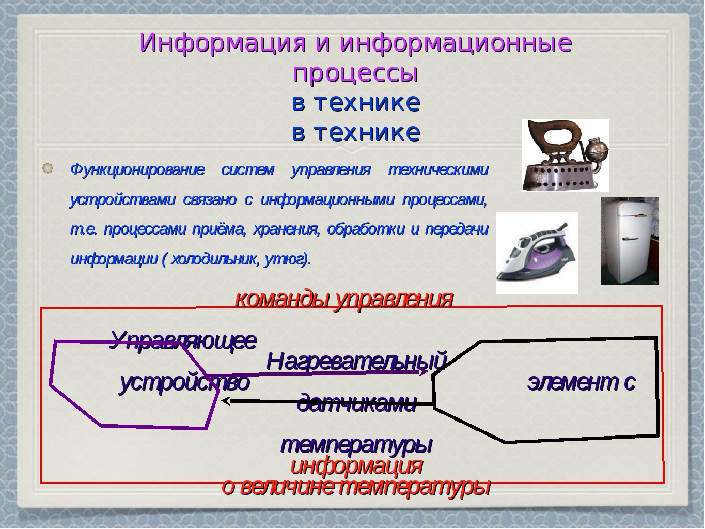 Информационный процесс, понятие