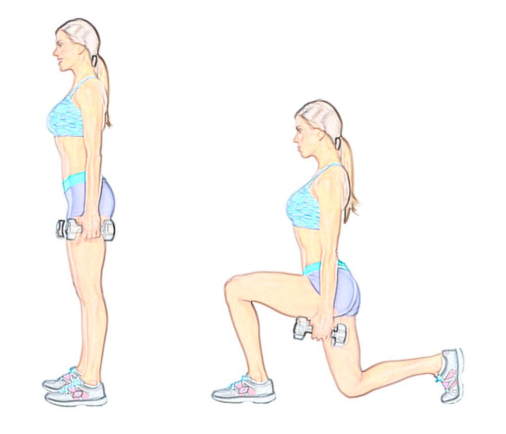 Выпады: разновидности упражнения и техника выполнения