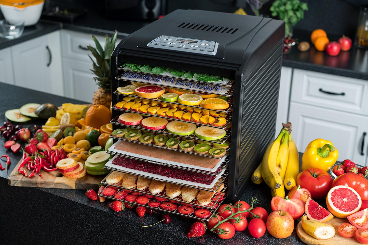 Как выбрать дегидратор? топ 6 хороших сушилок для овощей и фруктов | обзоры бытовой техники на gooosha.ru