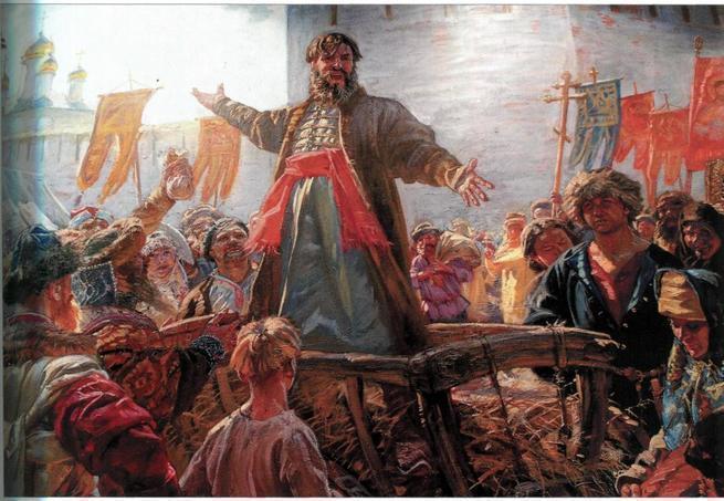 Зачем создавалось народное ополчение и какую роль оно играло в сражениях?
