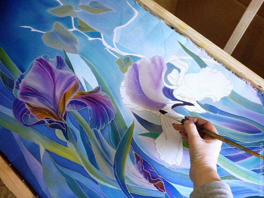 Что означает батик: инструкции для красивой росписи по тканям