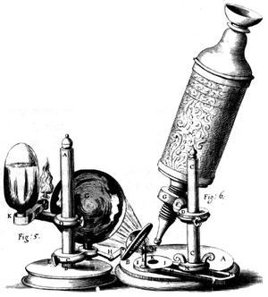 История создания микроскопа и его устройство