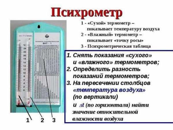 Психрометрические гигрометры вит (23 фото): инструкция по применению вит-1 и вит-2, технические характеристики психрометров