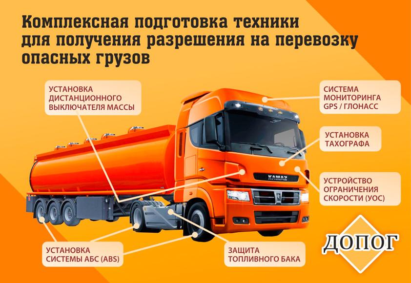 Перевозка опасных грузов автомобильным транспортом - правила и штрафы