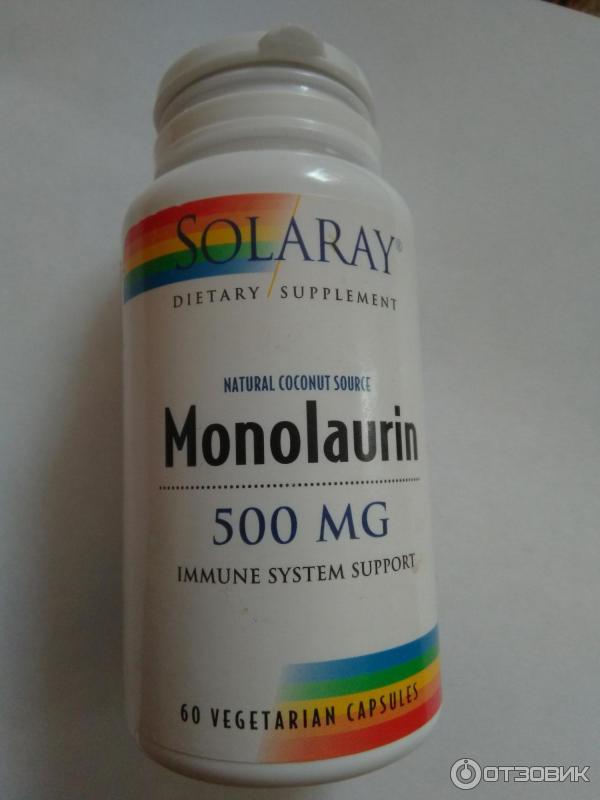 Монолаурин - мощная чистка от паразитов