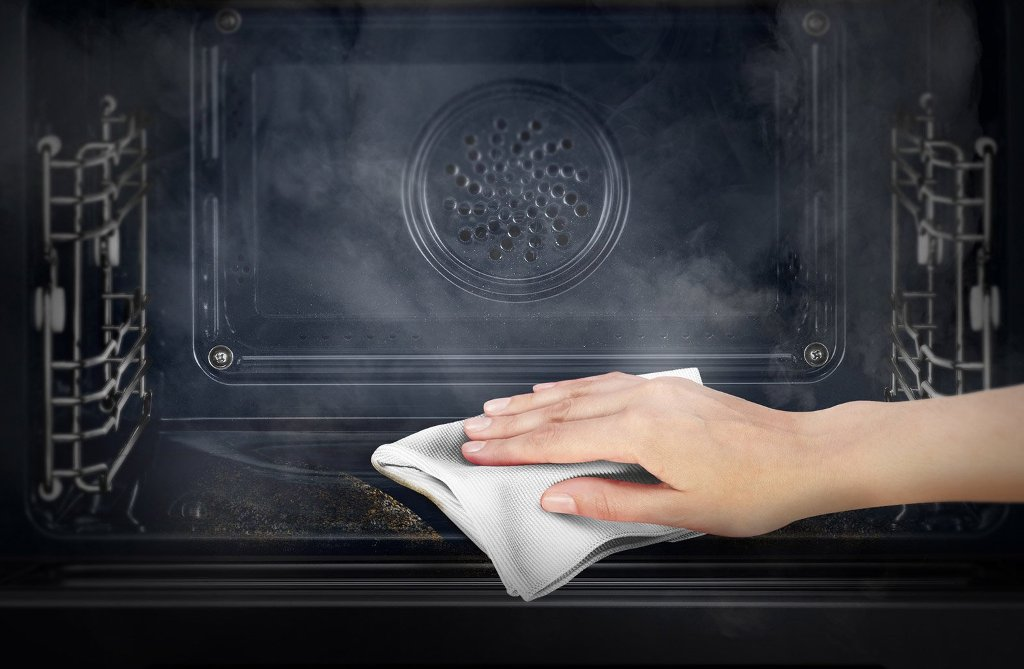 Что такое каталитическая очистка духовки
