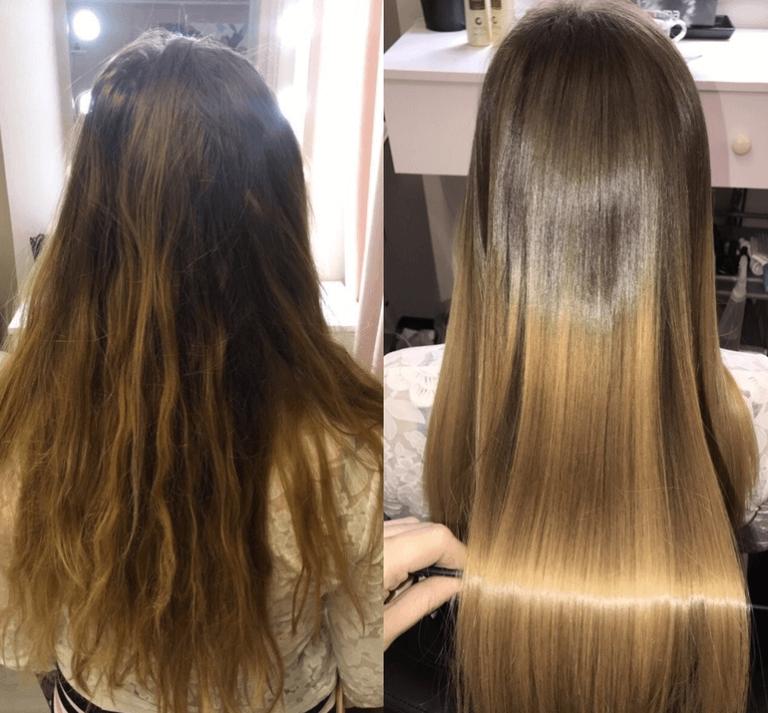В каких продуктах содержится кератин для волос