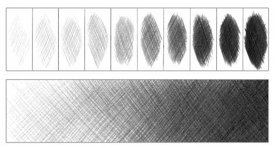 Штрихи. техника их исполнения. методика статьи