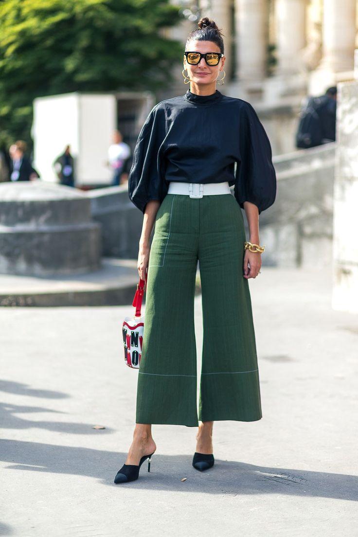 Кюлоты женские (50 фото) — с чем носить модные брюки?